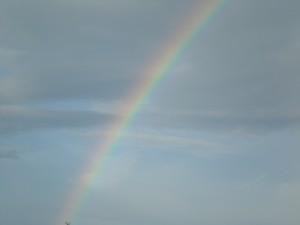 Heller Regenbogen